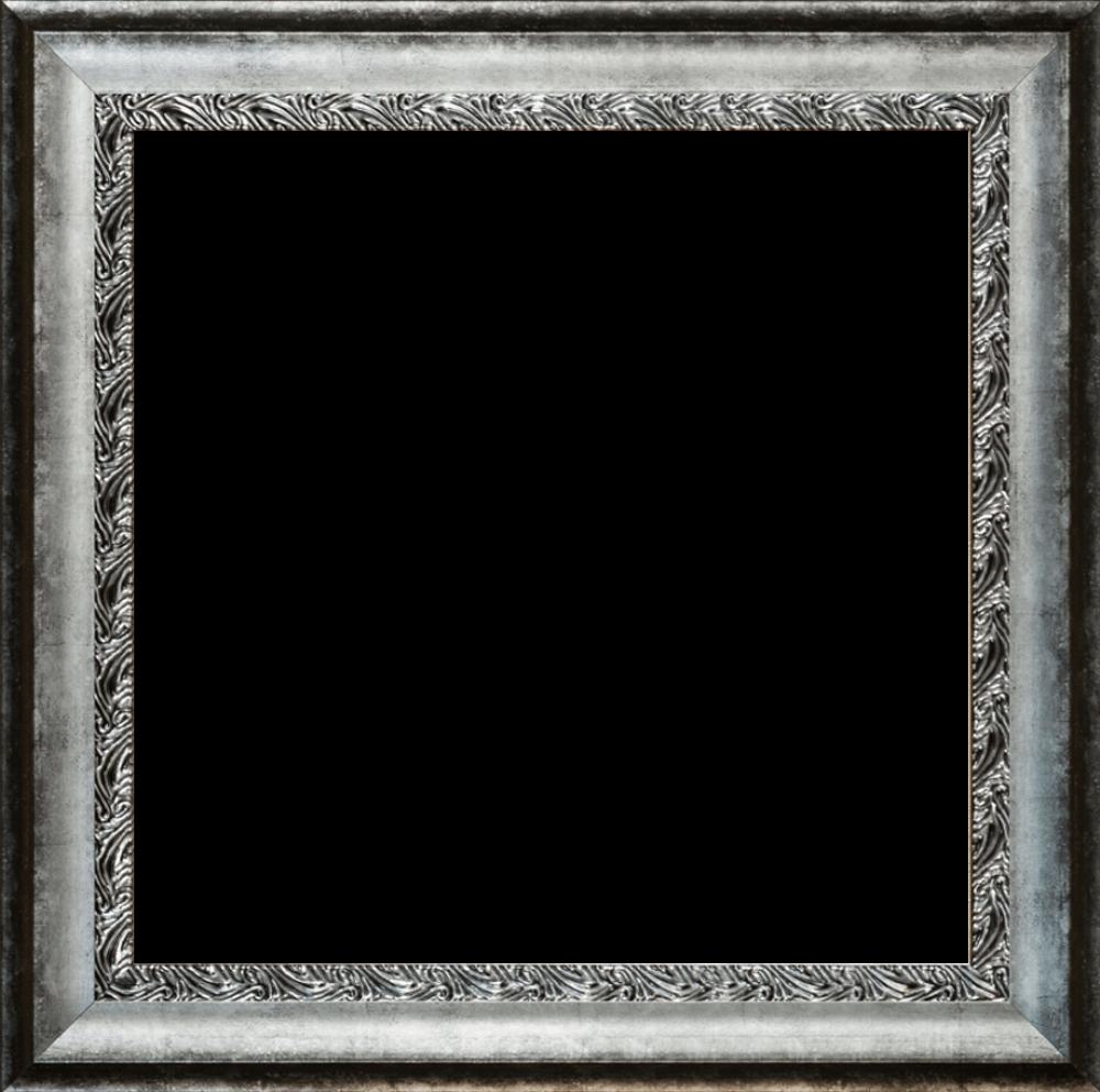 "Distressed Ornate Silver Combo 24"" x 24"""
