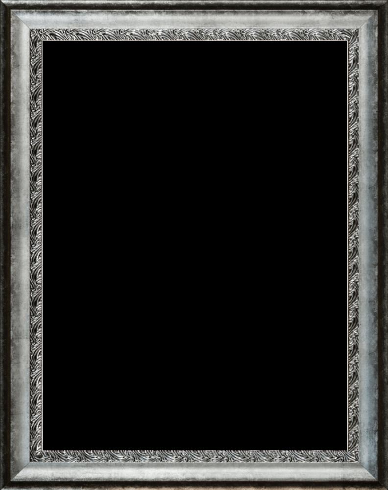 "Distressed Ornate Silver Combo 30"" X 40"""