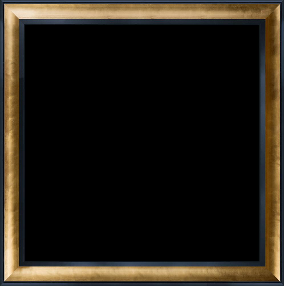 Gold Luminoso and Black Custom Stacked Frame 24