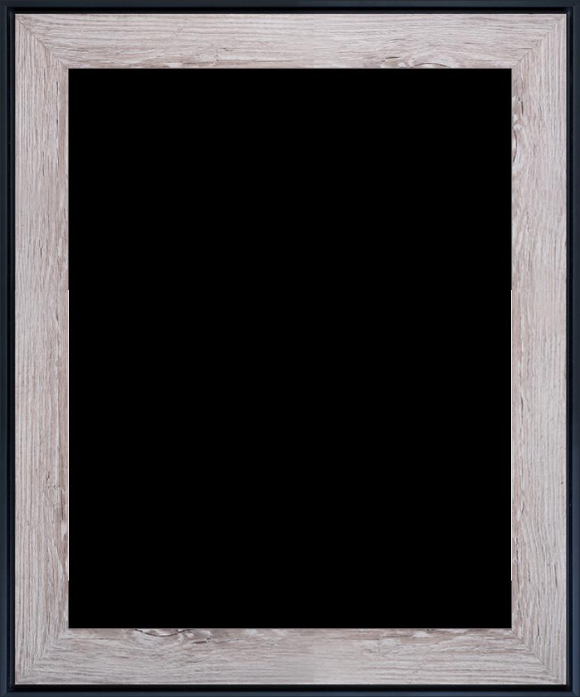 "Nantucket Whitewash and Black Combo 16""X20"""