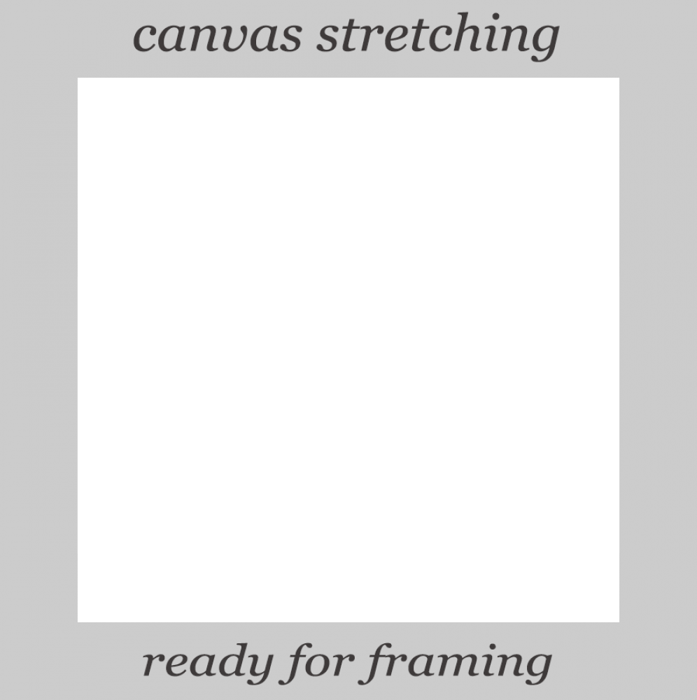 """Canvas Stretching 24""""X24"""""""