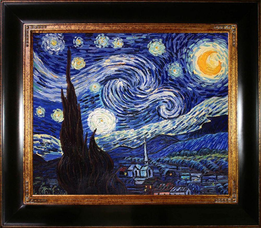 Starry Night Pre-Framed