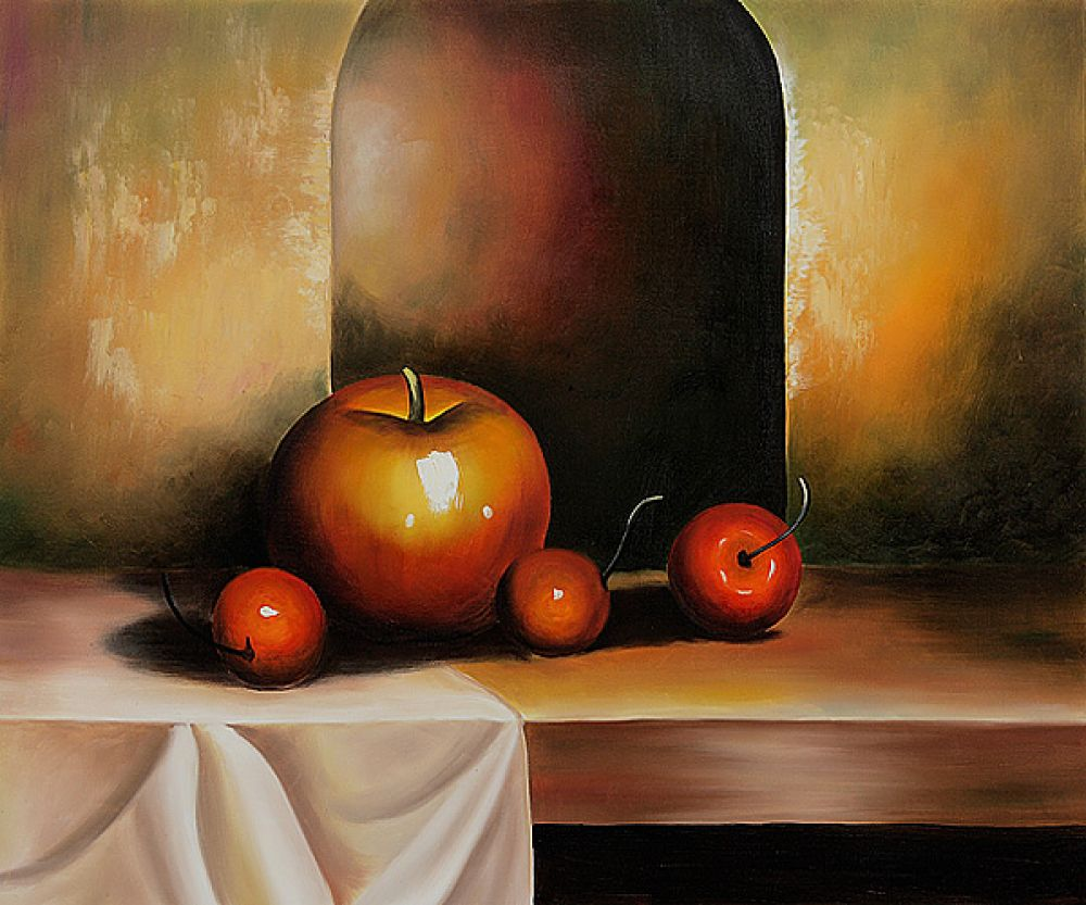 Apples On A Sideboard