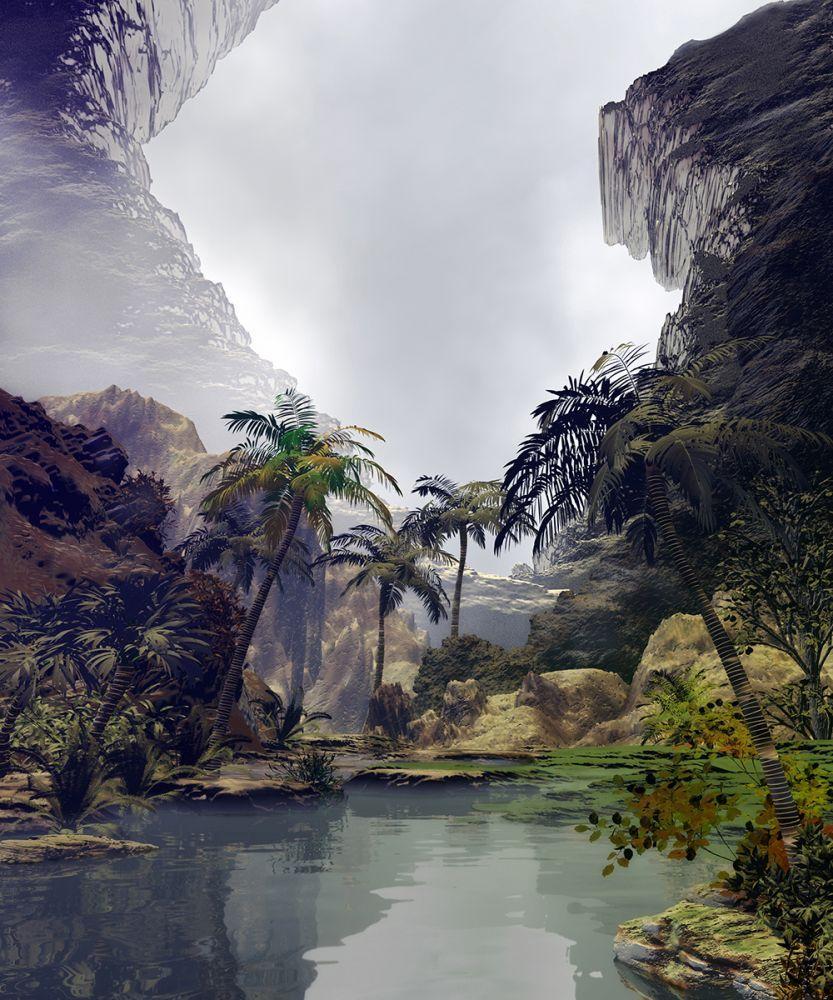 Little Tropical Lake
