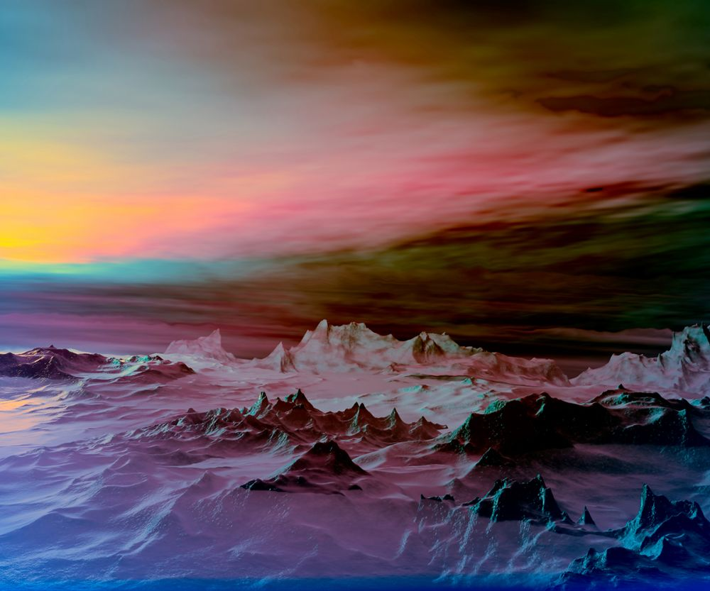 Sunset Multicolored