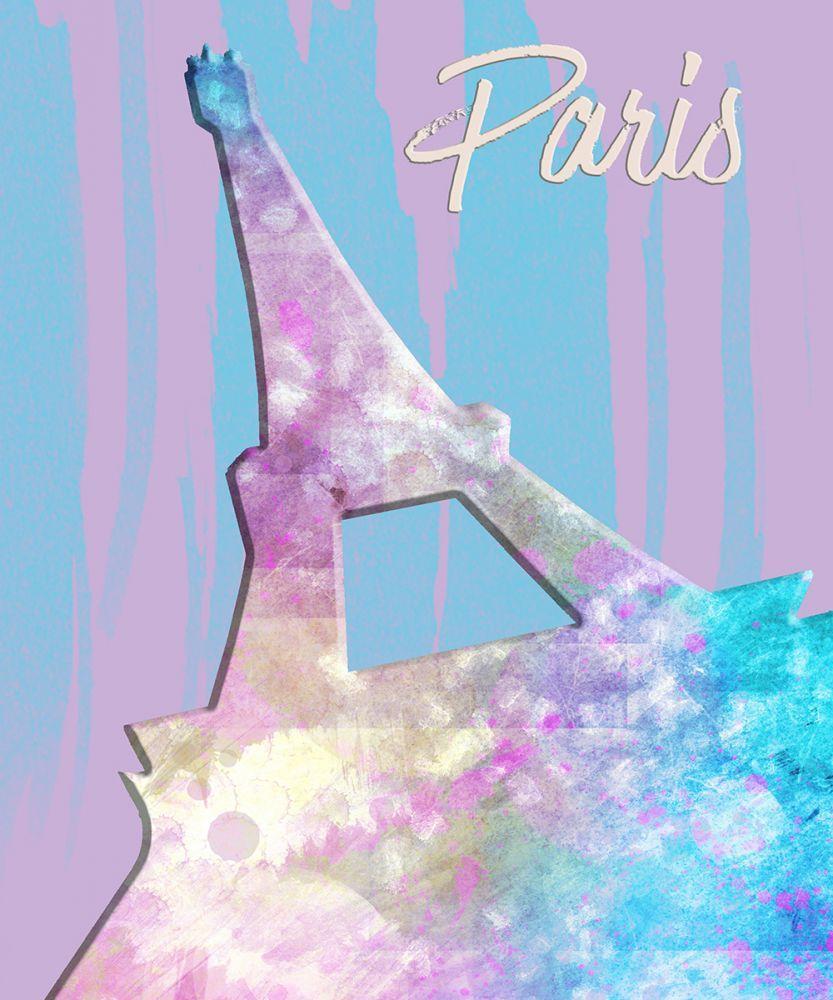 Graphic Style Paris Eiffel Tower