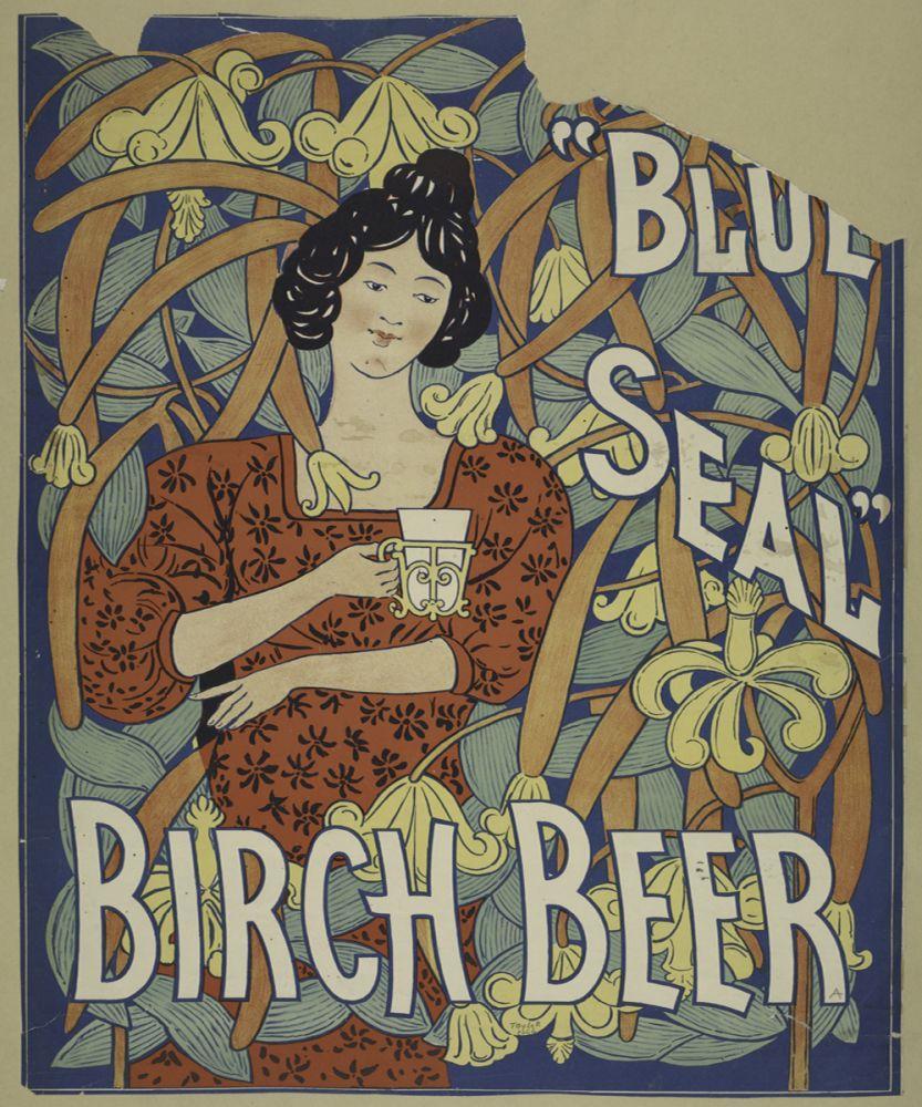 Blue Seal birch beer