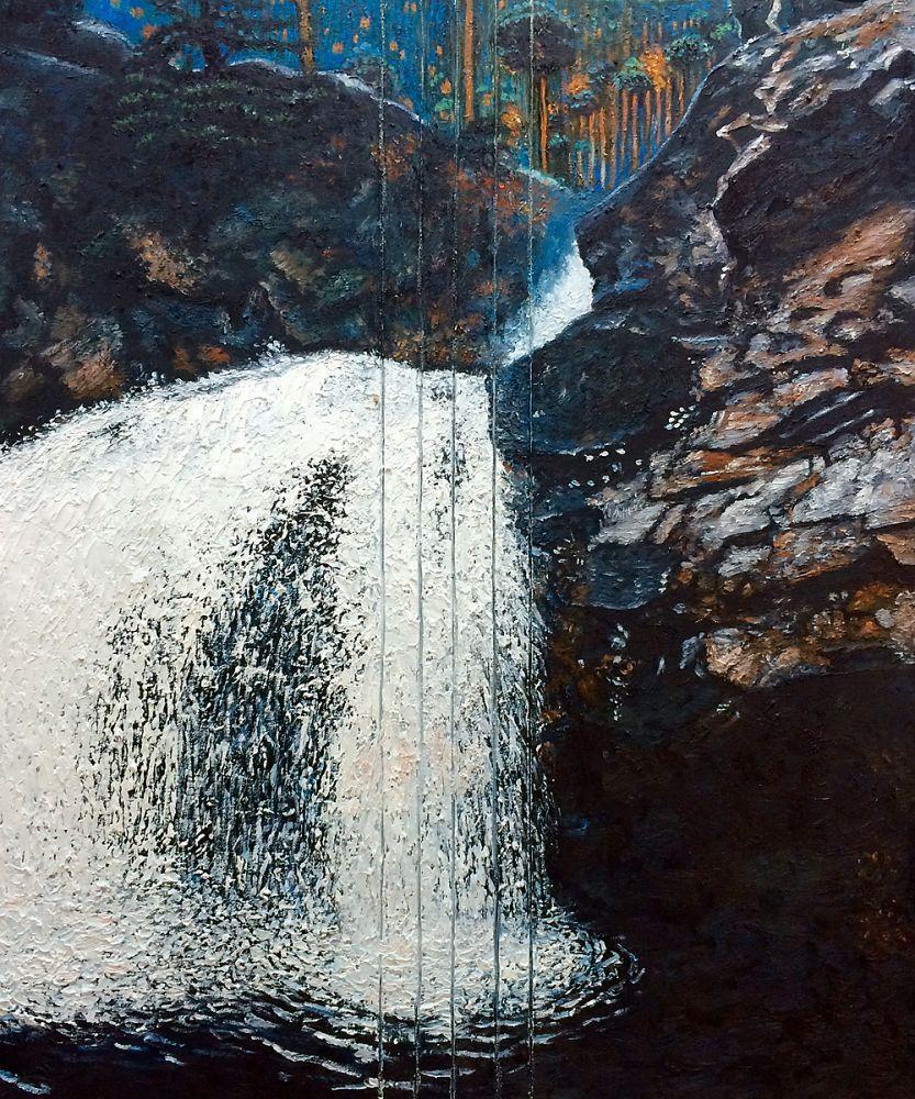 Mantykoski Waterfall