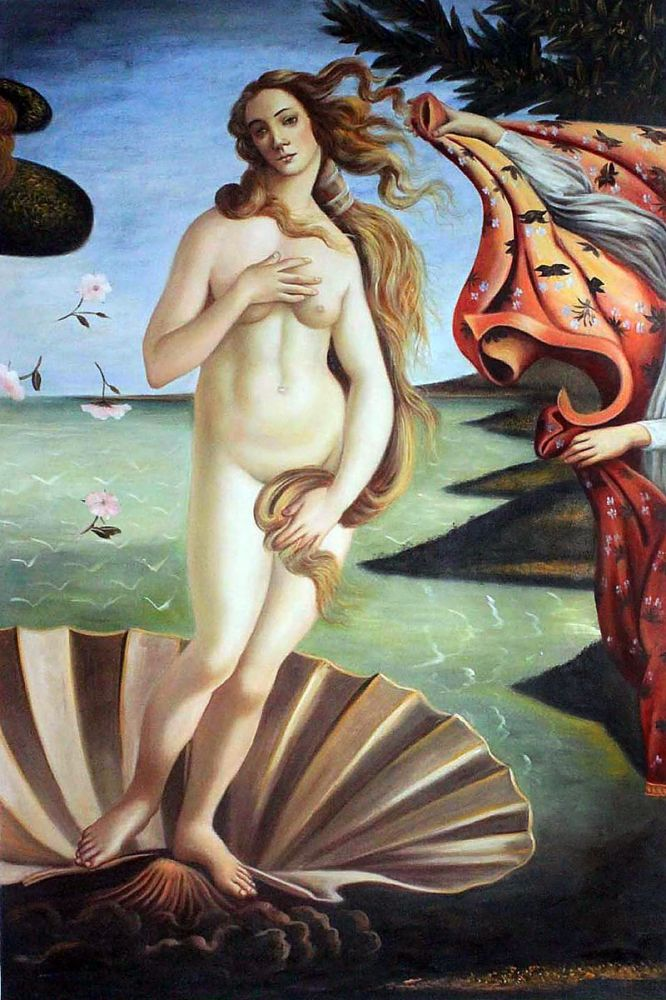 Birth of Venus (center panel)