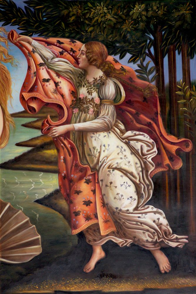 Birth of Venus (right panel)