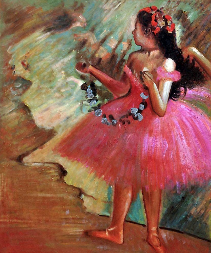 Dancer in a Pink Dress (Luxury Line)