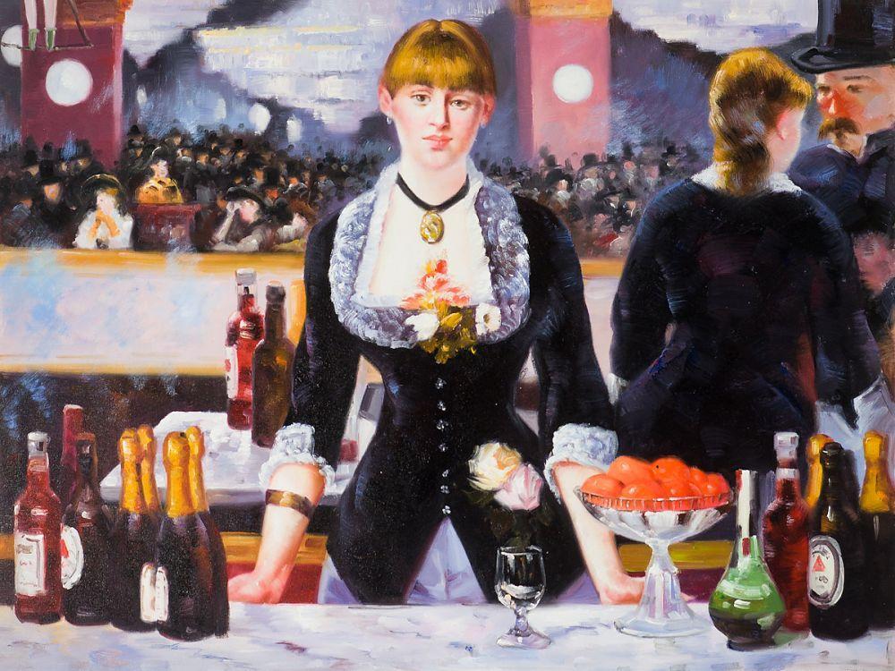 A Bar At The Folies Bergere A Bar at the Fo...