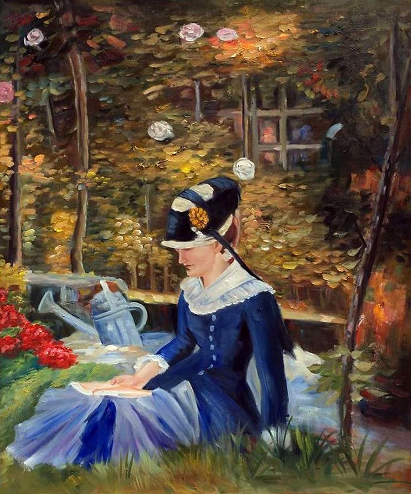 Young Woman in the Garden