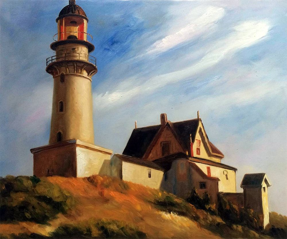 Lighthouse at Two Lights