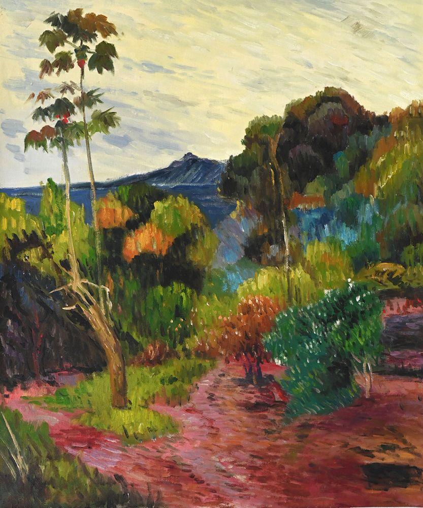 Martinique Landscape, 1887