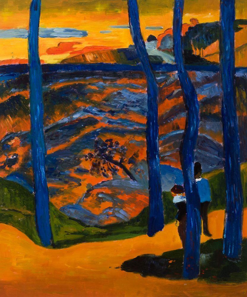 Blue Trees, 1888