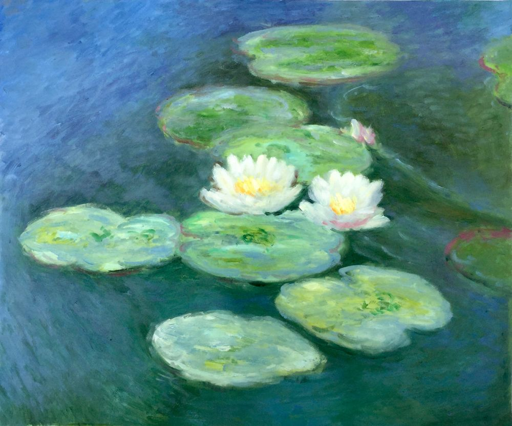 Water Lilies - Evening