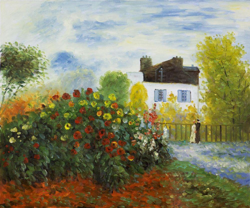 The Garden of Monet at Argenteuil, 1873