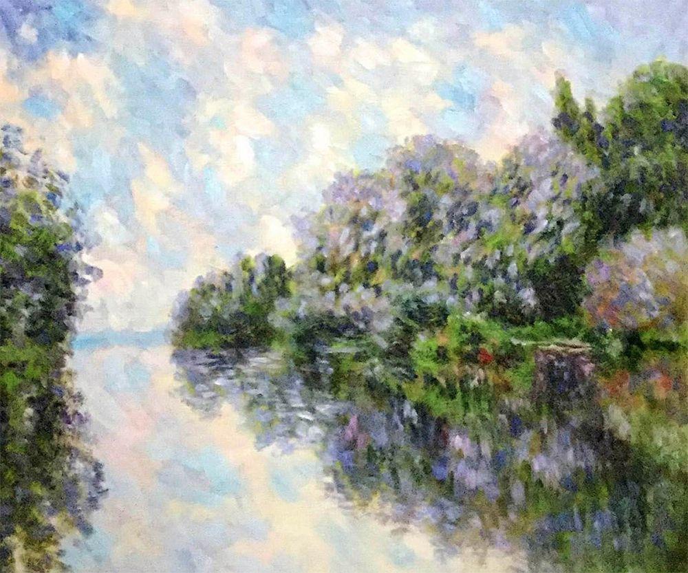 The Seine Near Giverny