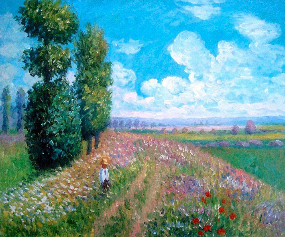 Field with Poplars