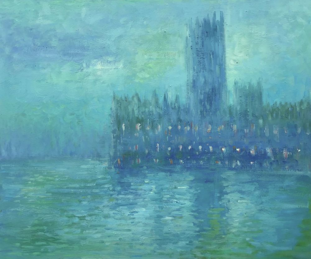 Houses of Parliament, Fog Effect