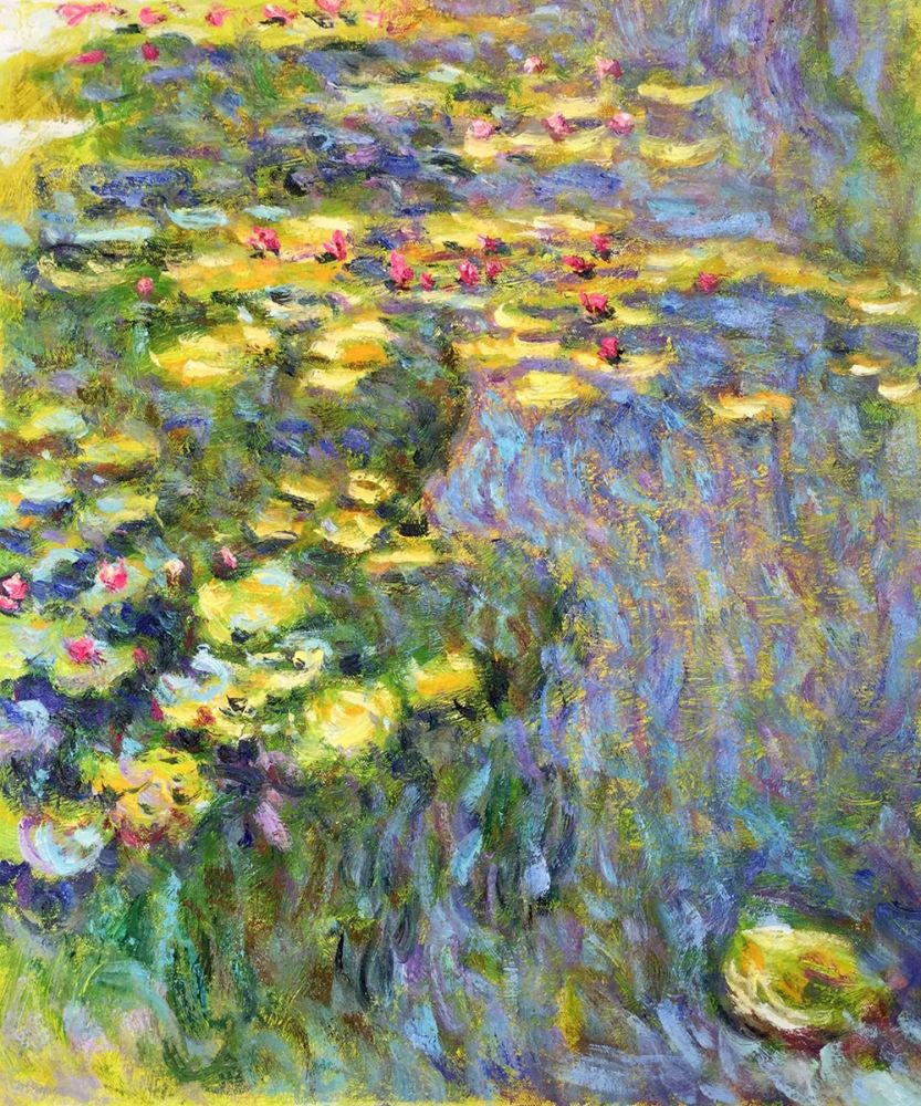 Water Lilies (Yellow and Green)