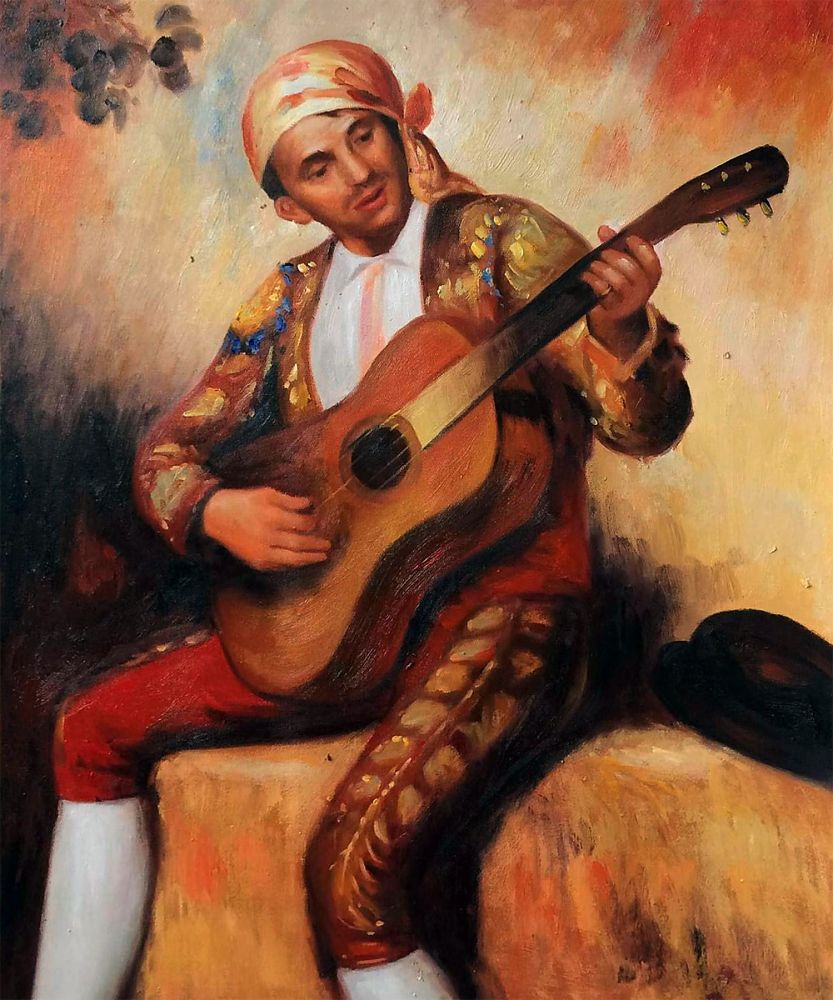 The Spanish Guitarist, 1897