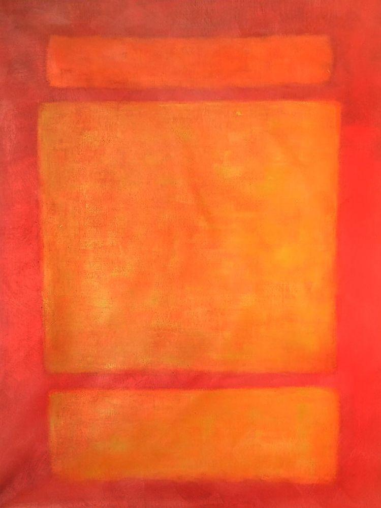 No. 6 Reds, Light and Dark, 1961