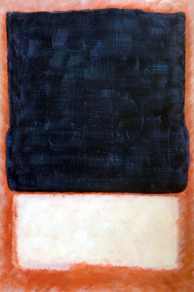 No. 7 (Dark Over Light), 1954