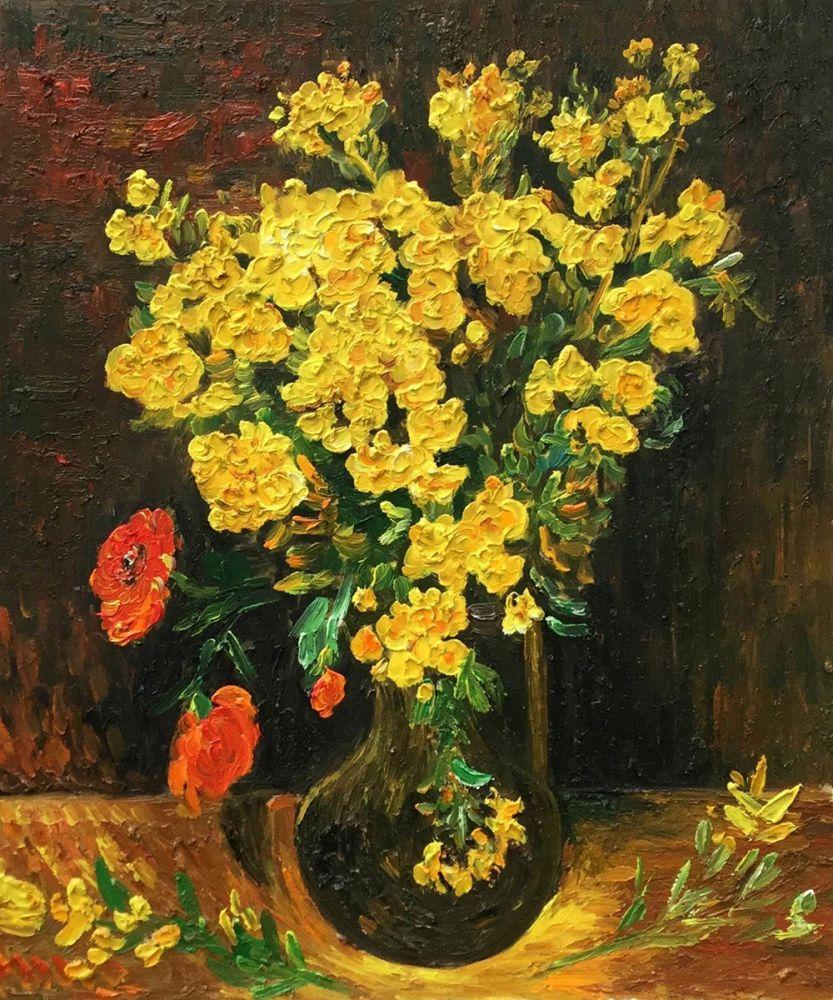 Vase with Viscaria (Poppy Flowers)