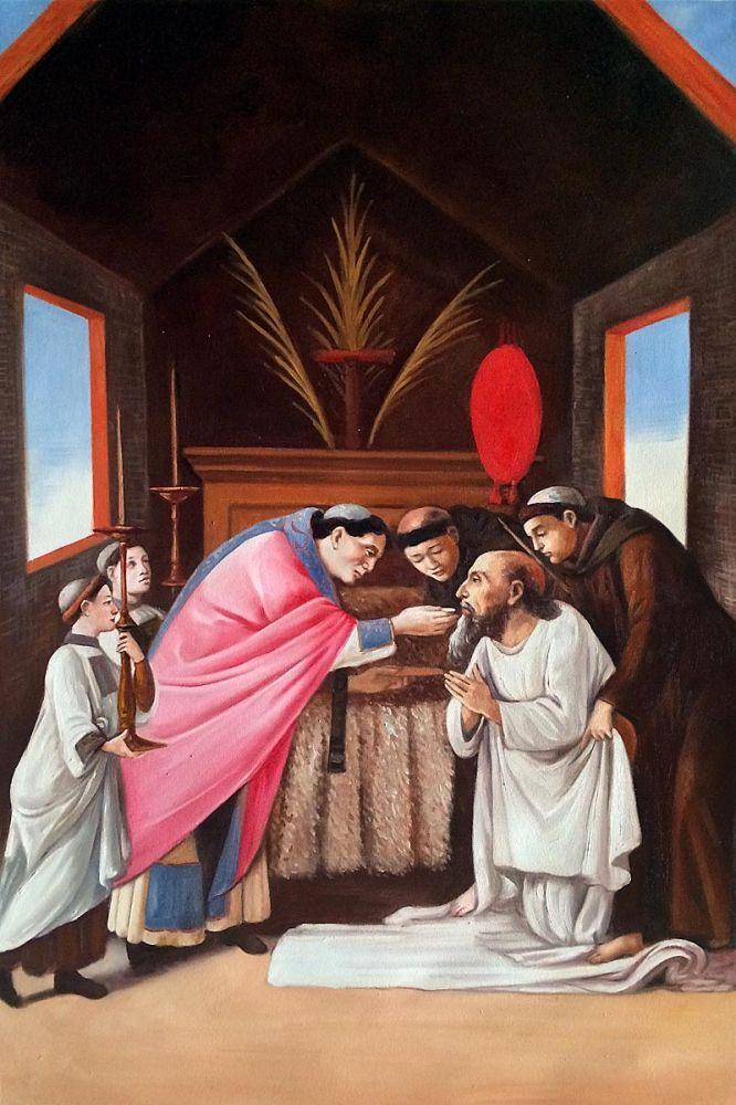 Last Communion of St Jerome