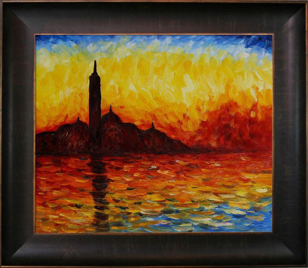 San Giorgio Maggiore by Twilight Pre-Framed