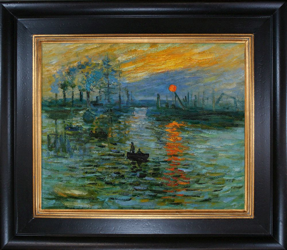 Impression, Sunrise Pre-Framed