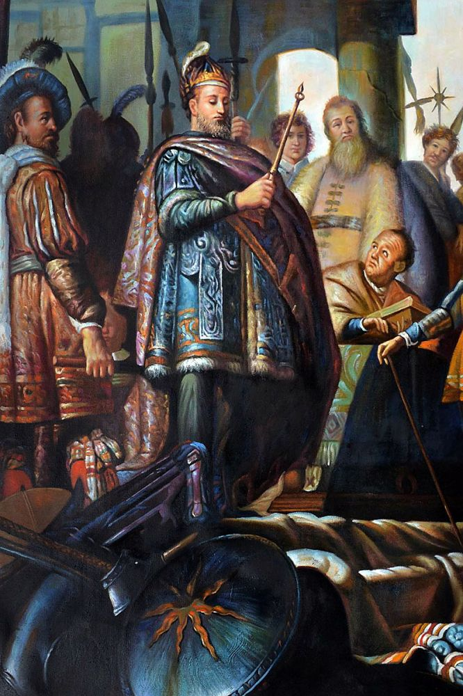 History Painting (detail)