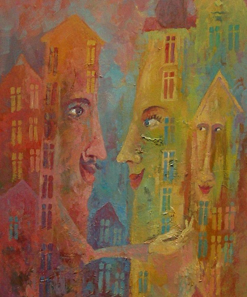 Houses in love