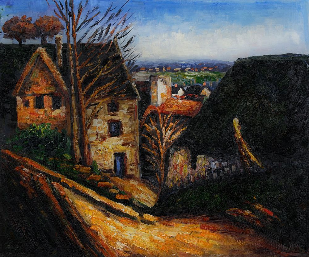 The House of the Hanged Man at Auvers