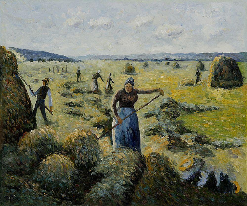 The Hay Harvest Eragny