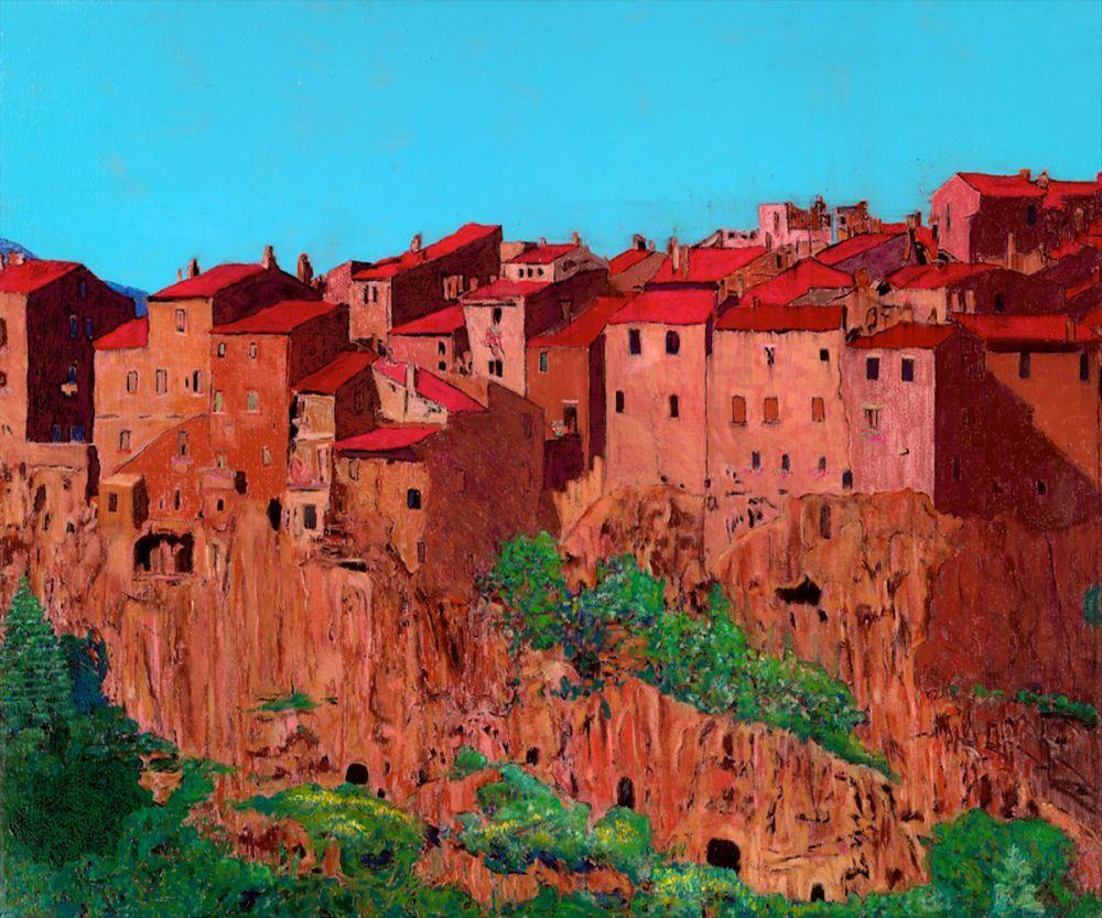 Pitigliano Village