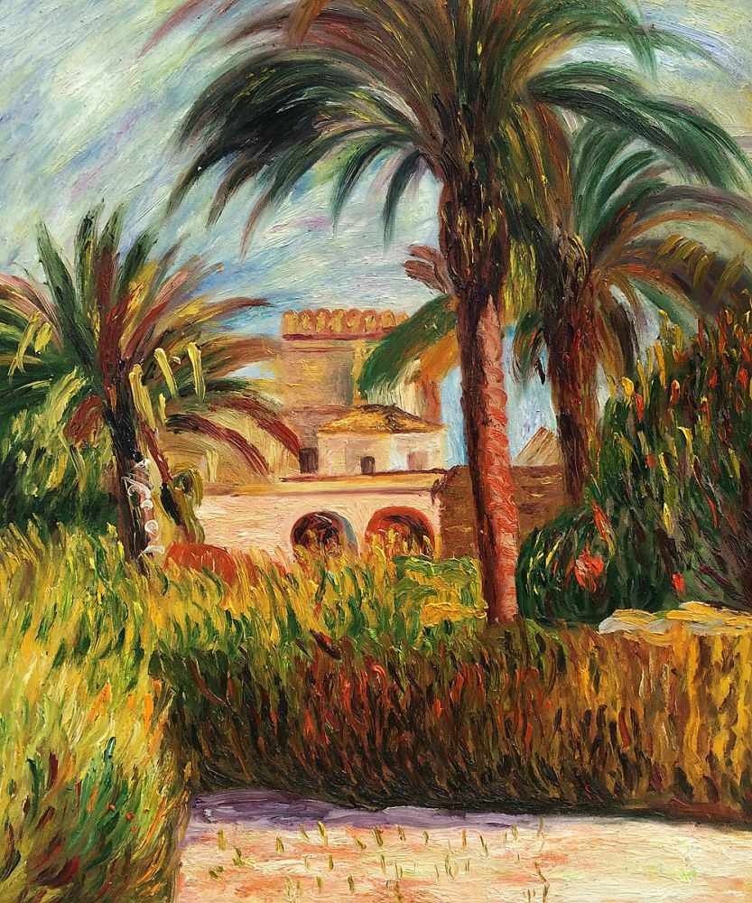 The Test Garden in Algiers, 1882