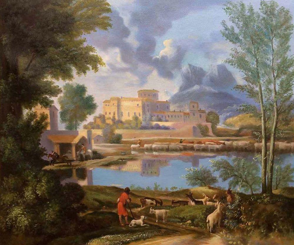 Landscape with a Calm, 1650-1651