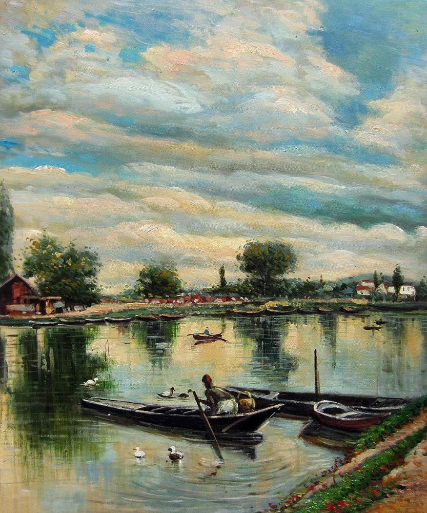 River Landscape, 1877