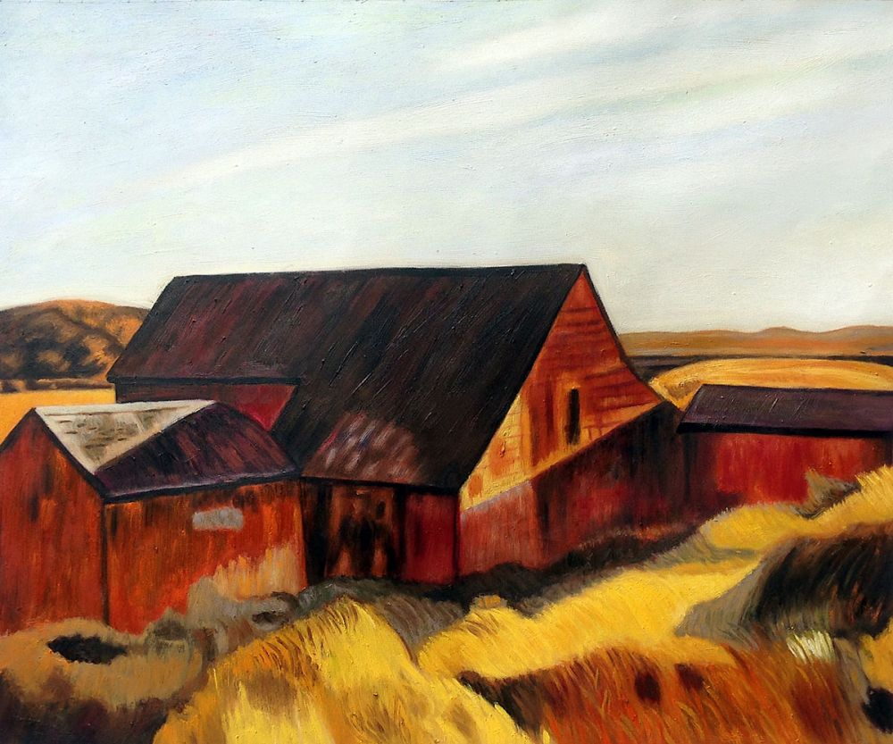 Cobb's Barns, South Truro, 1933