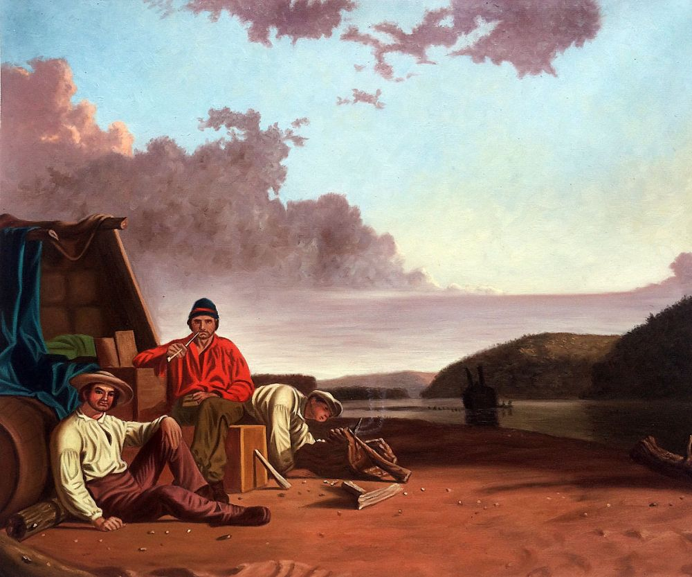 Watching the Cargo, 1849