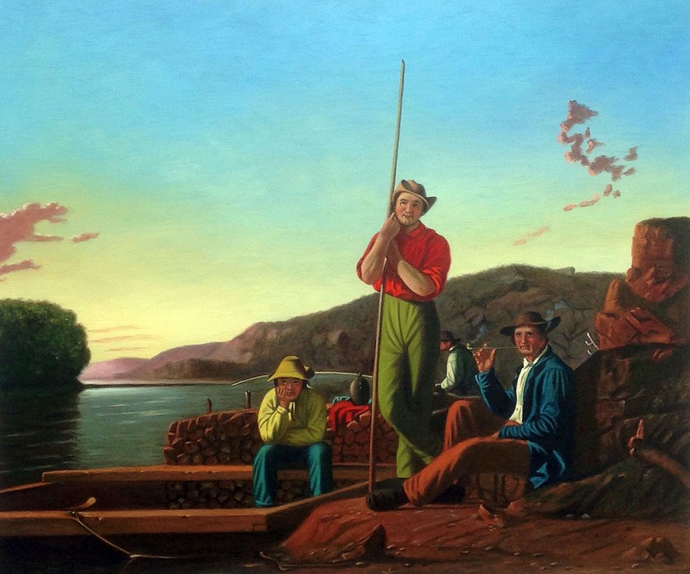 The Wood-Boat, 1850