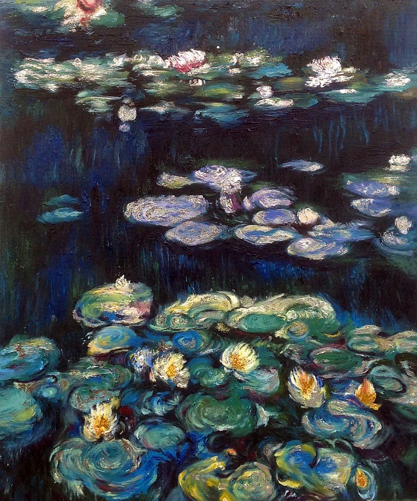 Water Lilies (Silver and Gold) (Luxury Line)