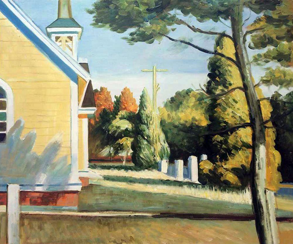 Church in Eastham, 1935