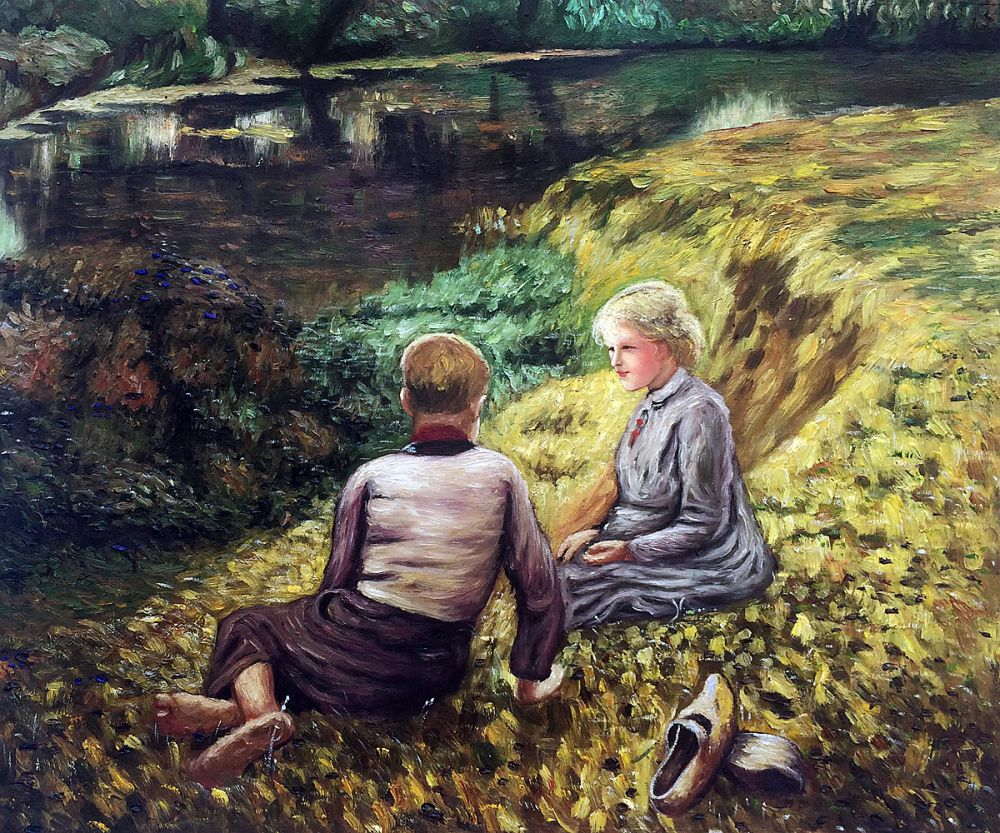 Children in a Landscape
