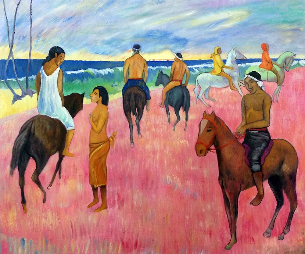 Riders on the Beach, II 1902