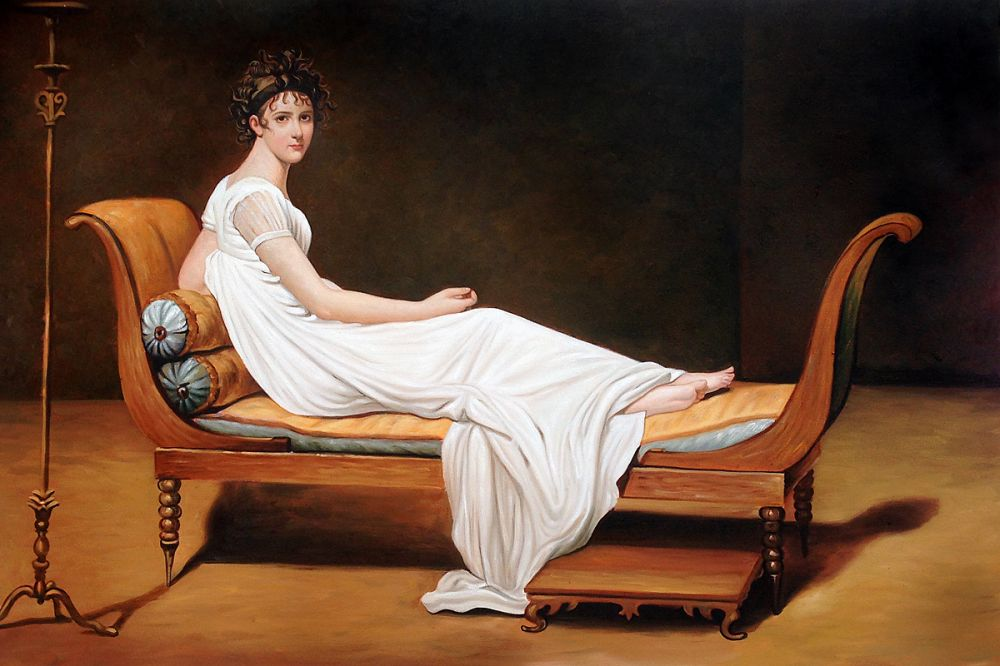 Portrait of Madame Recamier, c. 1800