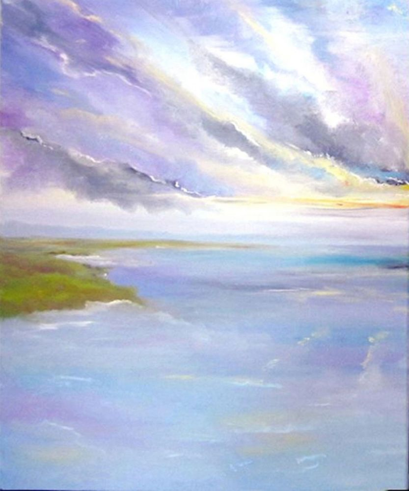 Horizon1 double painting